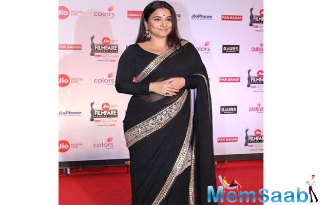 Vidya Balan on making debut as a producer: Powerful story called out to me
