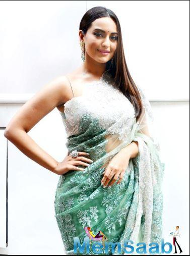 During the conversation, we happened to ask Sonakshi about her missing from the dance reality show.