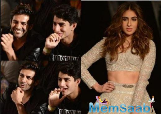 Sara Ali Khan walked the ramp like a professional and greeted everyone with a 'namaste' and an 'aadaab'. Pictures and videos from the event have been dominating social media now.