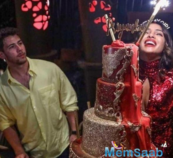 Priyanka Chopra's birthday celebration was an extravagant affair to say the least. From chilling in the middle of the sea to dazzling in a sparkly red outfit, Priyanka had the time of her life as she turned 37 on 18 July.