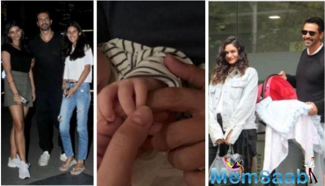 Arjun Rampal's daughters Mahikaa and Myra 'love Arik', reveals Gabriella Demetriades