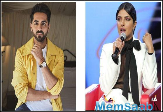 Ayushmann Khurrana: Priyanka Chopra has got the best voice