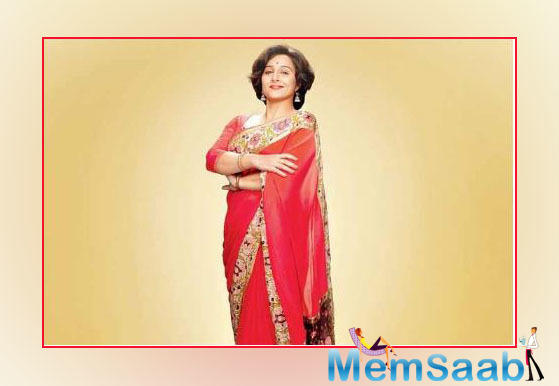 Vidya Balan's first look from Shakuntala Devi biopic