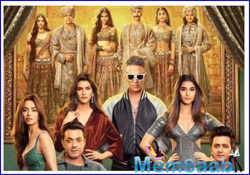 Housefull 4: Akshay Kumar shares the brand new poster of the reincarnation comedy