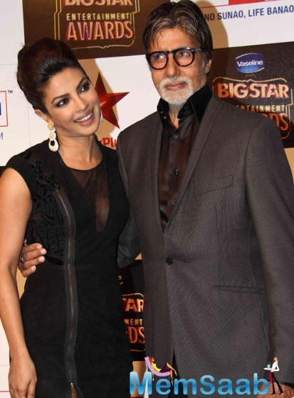 Priyanka Chopra: Amitabh Bachchan's professionalism is worth compiling in a book