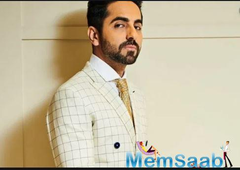 Ayushmann, who shot a video on this recently, said: