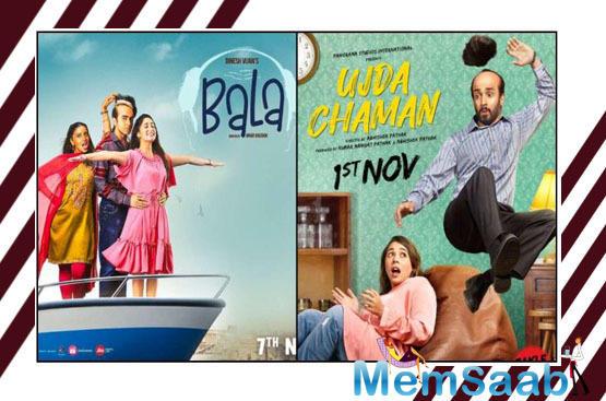 Bala vs Ujda Chaman: We were first to have this idea in Hindi cinema, says Ayushmann