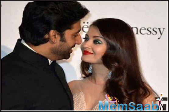 Junior Bachchan shared a picture of his wife on Instagram where she looks straight out of a fairy tale and wrote,