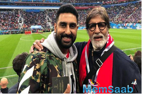 50 Years in the film industry of Big B: Abhishek pens emotional note for father Amitabh Bachchan
