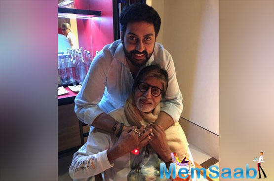 Amitabh Bachchan on Friday took a walk down memory lane as he revisited the time when his son and actor Abhishek penned a heartfelt letter dedicated to him while he was on an outdoor shoot for long.