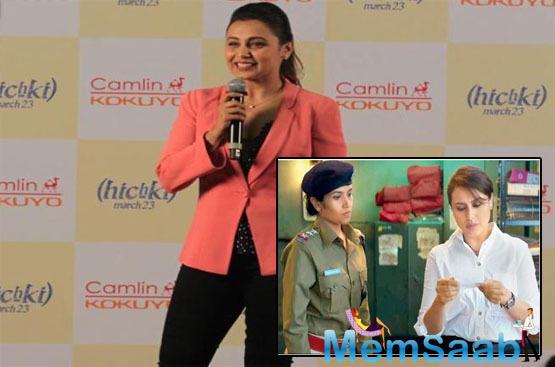 Rani Mukerji on Mardaani 2: Premise triggered by pain of horrific stories