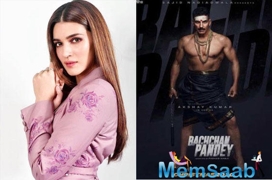 Kriti Sanon to play a pivotal role in 'Bachchan Pandey'