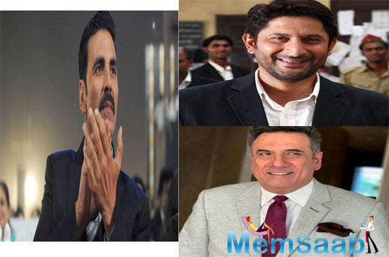 """""""It is a script which has two lawyers and it will be Jolly vs Jolly in Jolly LLB 3. While Boman Irani played opposing lawyers to Arshad and Akshay, respectively, it is billed as a clash of the Jollys in the third part,"""" says a source."""