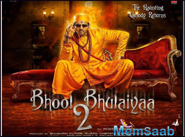 'Bhool Bhulaiyaa 2': Kartik Aaryan and Kiara Advani to kick start the second schedule from January 2020