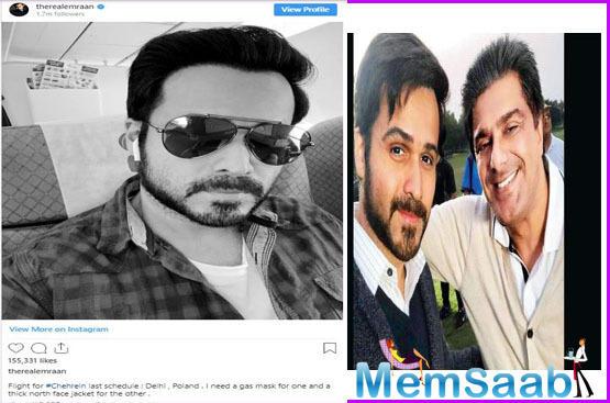 Samir Soni joins Emraan Hashmi and Amitabh Bachchan for Chehre