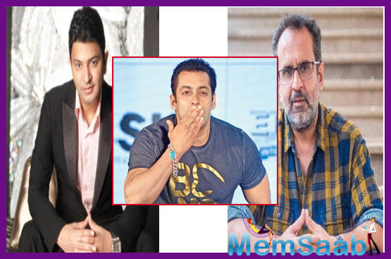 Aanand L Rai and producer Bhushan Kumar, keen to lock Salman Khan for their next project