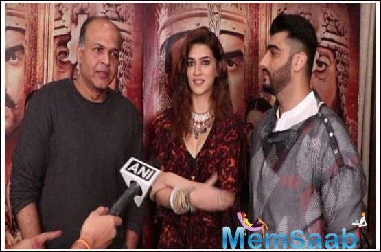 Kriti Sanon speaks about her character in Panipat as Parvati Bai, both loving and fearless