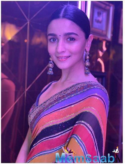 Apart from that, Alia will also be seen in Sanjay Leela Bhansali's 'Gangubai Kathiawadi'.