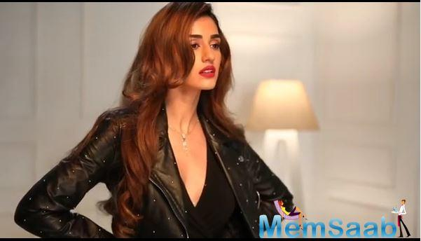 Disha Patani overcomes the fear of heights with aerial stunts