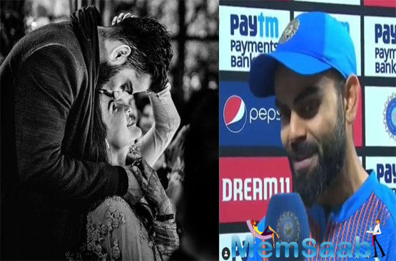 Post celebrating their marriage anniversary, Virat had a T20 series against West Indies too.