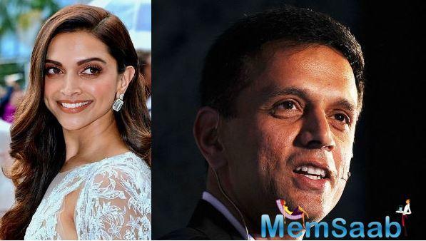 Deepika Padukone: My all-time favourite cricketer is Rahul Dravid