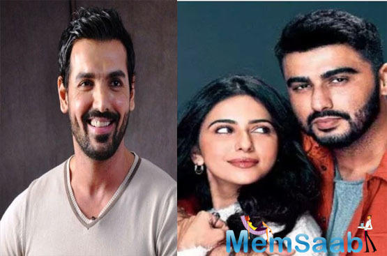 Not just co-produce, but John Abraham to star with Arjun Kapoor and Rakul Preet Singh in their cross-border love story?