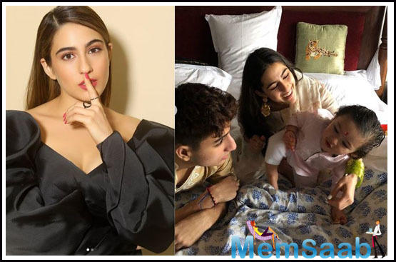Sara Ali Khan's birthday wish for 'cutiepie' Taimur Ali Khan will warm the cockles of your heart