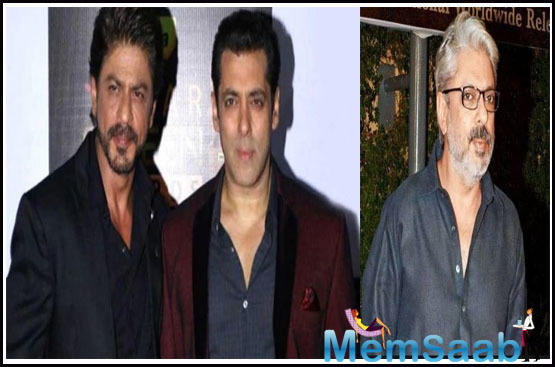 Salman Khan and Shah Rukh Khan had agreed to do Sanjay Leela Bhansali's film, but here's what went wrong
