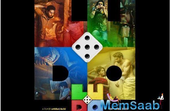 Makers of Anurag Basu's upcoming film starring Abhishek Bachchan, Rajkummar Rao, and Sanya Malhotra, on Friday announced the title of the film - Ludo.