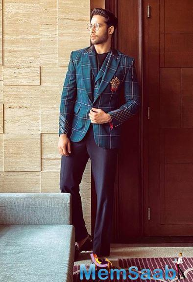 In previous interviews, Siddhant has often mentioned that he wants to experiment with characters and make sure not two characters are the same.