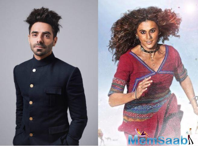 After impressing fans with supporting acts in several films, Aparshakti is all set to appear as male lead in the upcoming film, Helmet opposite Pranutan Bahl.