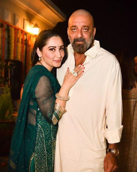 Sanjay Dutt and Maanayata wish each other with heartfelt posts on 12th wedding anniversary