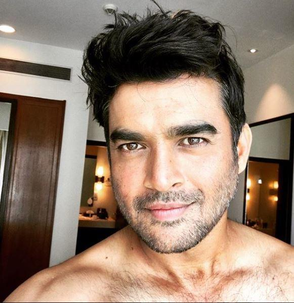In 2017, the actor shared a shirtless selfie
