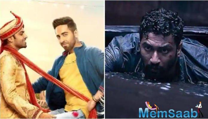 Ayushmann Khurrana's love wins over Vicky Kaushal's fear