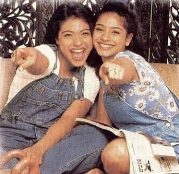 Kajol share an adorable throwback picture with Tanishaa