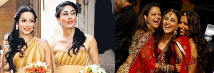 In Bollywood, Kareena Kapoor Khan, Malaika Arora and Amrita Arora can be called friends forever