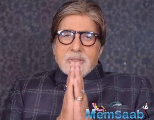 Amitabh Bachchan pens down heartfelt message amid Coronavirus outbreak