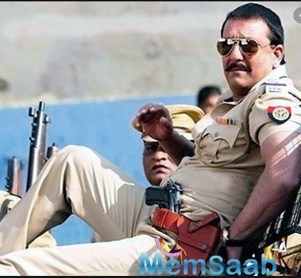 He has played a role of every kind of cop possible. We saw him in 'Dhamaal' playing a role of a comical cop.