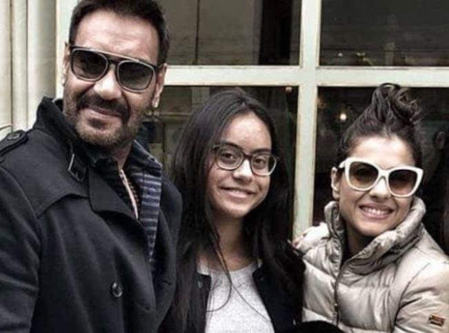 Ajay Devgn wishes daughter Nysa on her birthday with a selfie