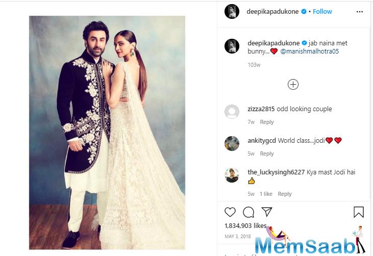 When Deepika Padukone caught ex-bf Ranbir Kapoor red-handed
