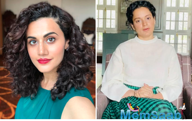 """Taapsee Pannu's befitting reply to Kangana Ranaut: """"refuse to take advantage of someone's death for personal vendetta"""""""