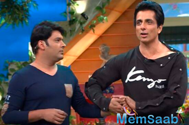 Kapil Sharma recently started shooting for his popular chat show, The Kapil Sharma Show, after being in lockdown for almost 3-4 months. The first guest on his show after the lockdown is none other than Sonu Sood!
