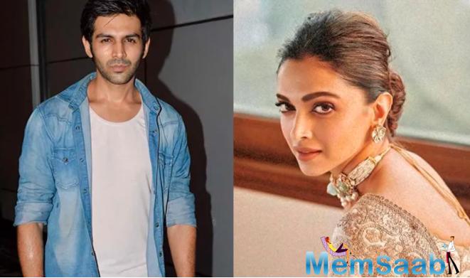Kartik Aaryan was keen to star in a film with Deepika Padukone?