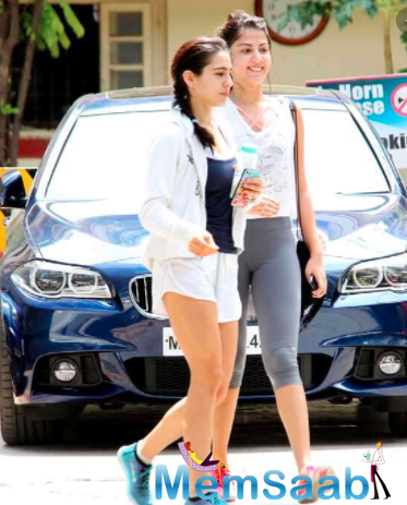 Sara Ali Khan and Rhea Chakraborty were gym buddies and used to hang out often