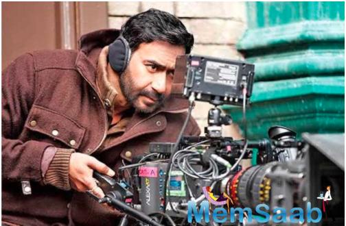 Ajay Devgn salutes 'camera' on Teachers' Day