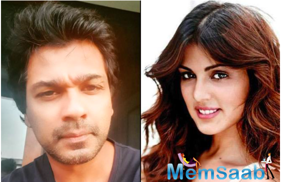 Producer Nikhil Dwivedi tweets to Rhea Chakraborty; says he would like to work with her