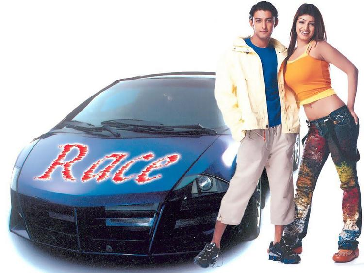 Aayesha Takia With Vatsal Sheth In Taarzan
