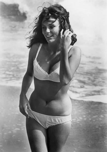 Jacqueline Bisset Bikini Dress Photo