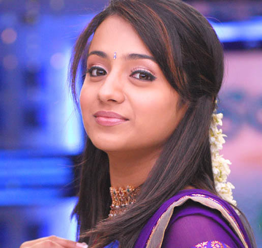 Lovely Actress Trisha Cute Face Still