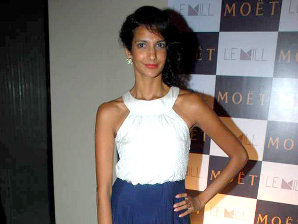 Rahul Khanna Poorna and Lisa at Moet and Chandon's valentine evening